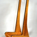 Studio Guitar Stand - Red Oak or Hickory